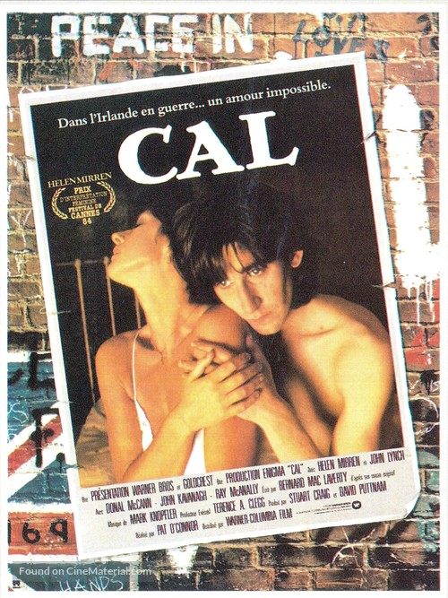 Cal - French Movie Poster