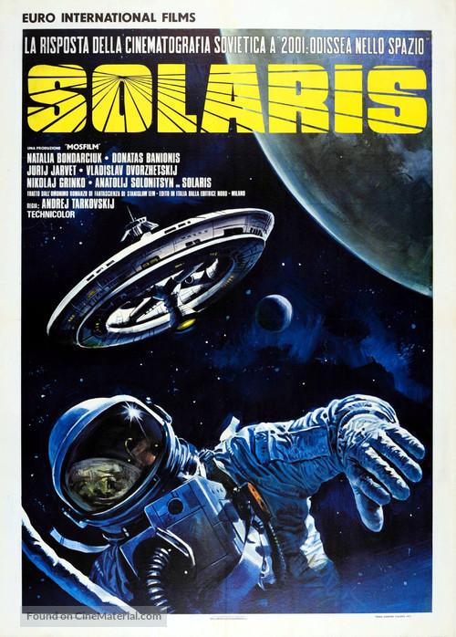 Solyaris - Italian Movie Poster
