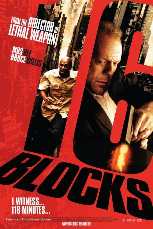 16 Blocks - poster