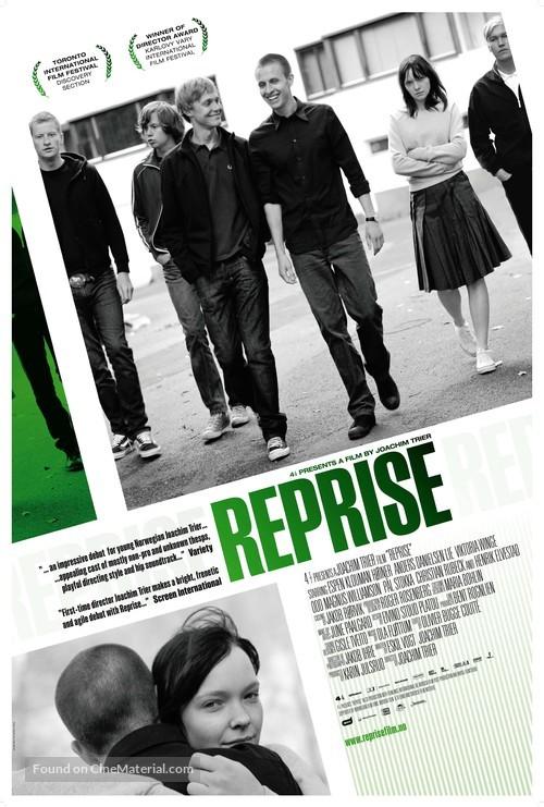 Reprise - Norwegian Movie Poster