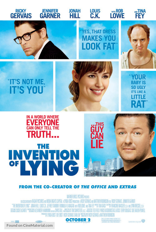 The Invention of Lying - Movie Poster