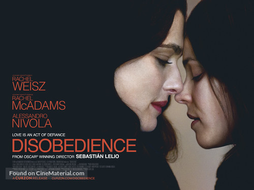 Image result for disobedience movie poster