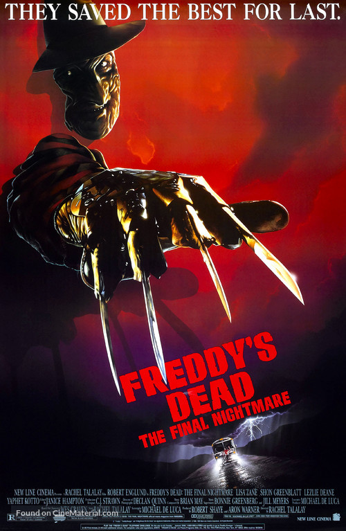 Freddy's Dead: The Final Nightmare - Theatrical poster