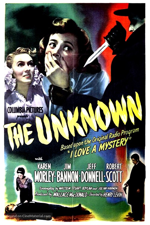 The Unknown - Movie Poster