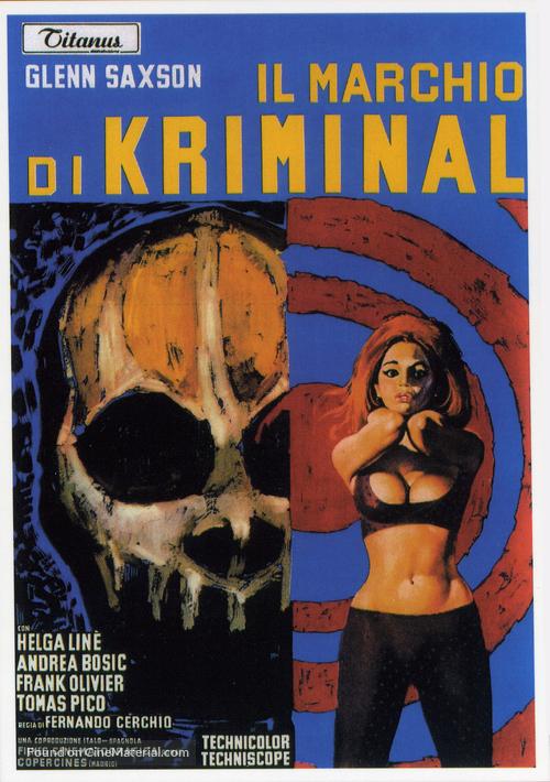 Il marchio di Kriminal - Italian Movie Poster