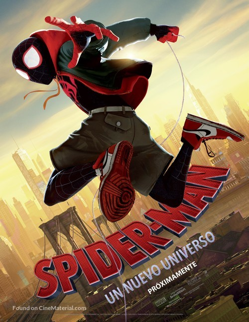 Spider-Man: Into the Spider-Verse - Argentinian Movie Poster