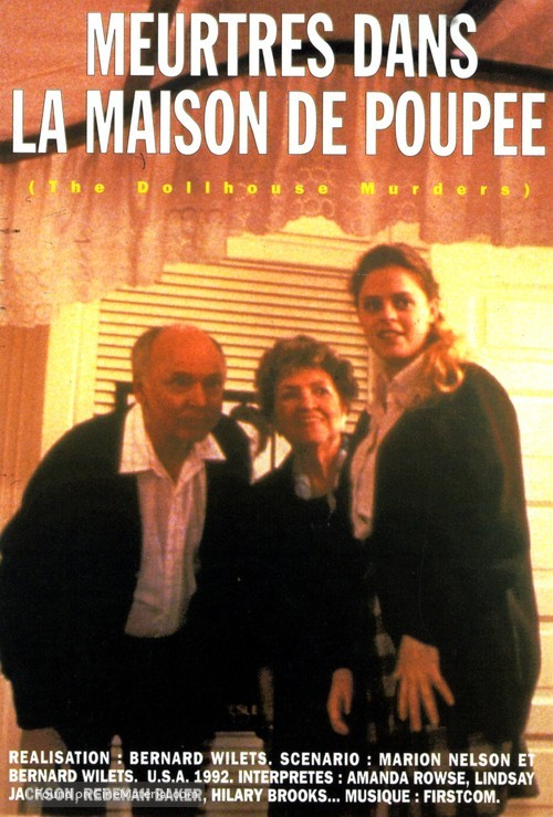 The Dollhouse Murders French Movie Cover