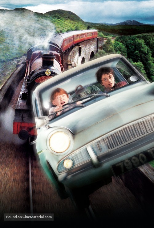 Harry Potter and the Chamber of Secrets - Key art