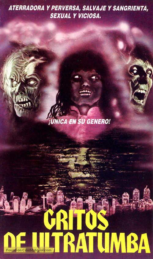 La revanche des mortes vivantes - Argentinian Movie Cover