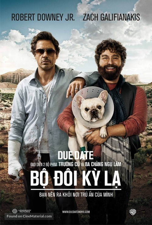 Due Date - Vietnamese Movie Poster