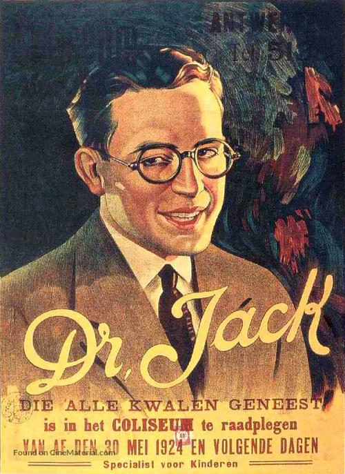 Doctor Jack - Dutch Movie Poster