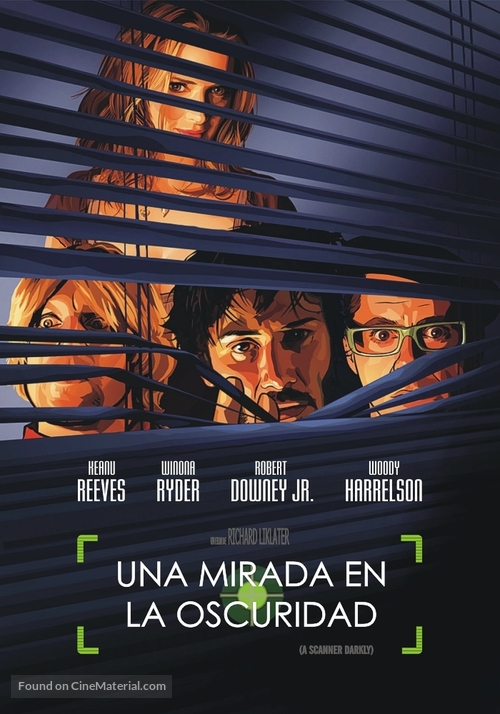 A Scanner Darkly - Argentinian DVD cover