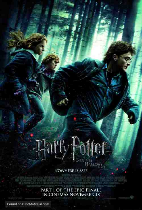 Harry Potter and the Deathly Hallows: Part I - Malaysian Movie Poster