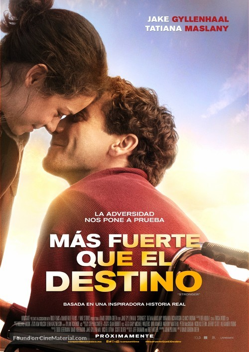 Stronger - Colombian Movie Poster