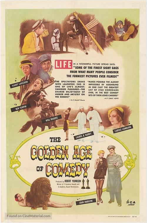 The Golden Age of Comedy - Movie Poster
