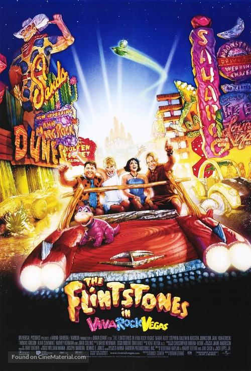 The Flintstones in Viva Rock Vegas - Movie Poster