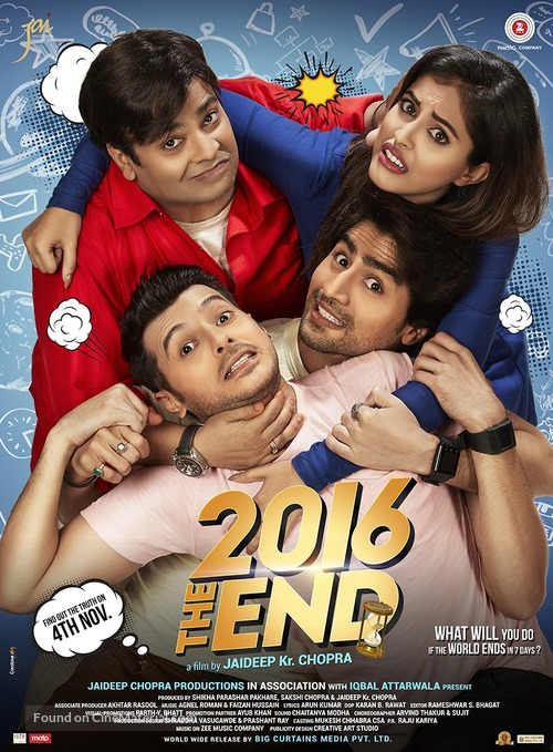 2016 the End - Indian Movie Poster