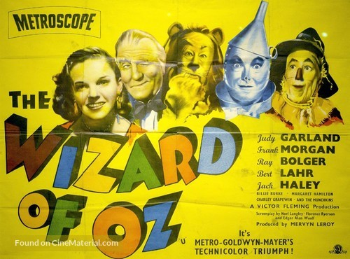 The Wizard of Oz - British Movie Poster