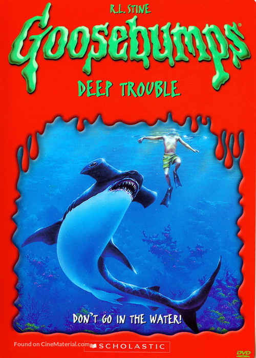 """Goosebumps"" - Movie Cover"