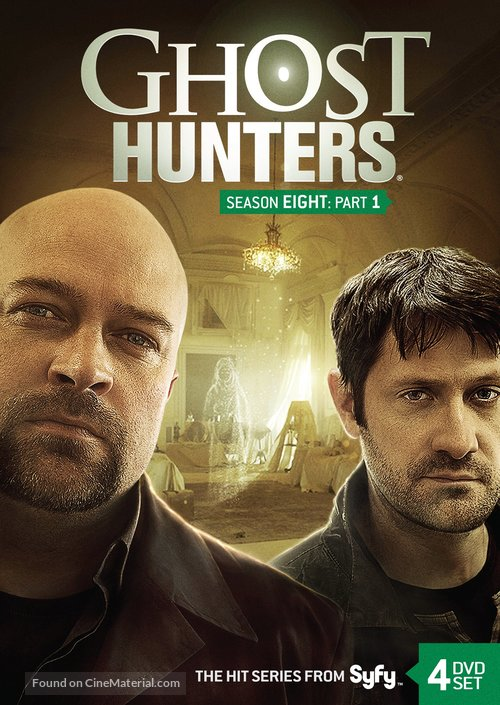 """""""Ghost Hunters"""" - DVD cover"""