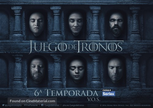 """""""Game of Thrones"""" - Spanish Movie Poster"""