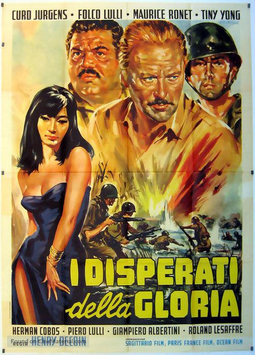 Les parias de la gloire - Italian Movie Poster