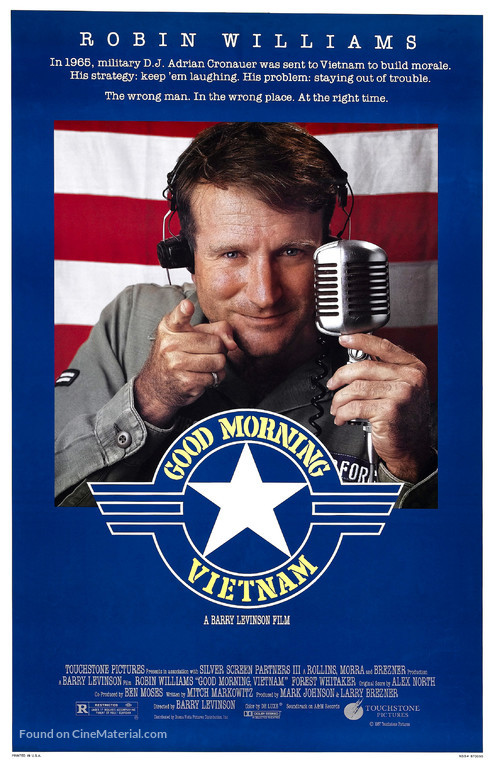 Good Morning, Vietnam - Movie Poster