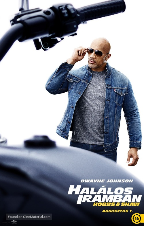 Fast & Furious Presents: Hobbs & Shaw - Hungarian Movie Poster