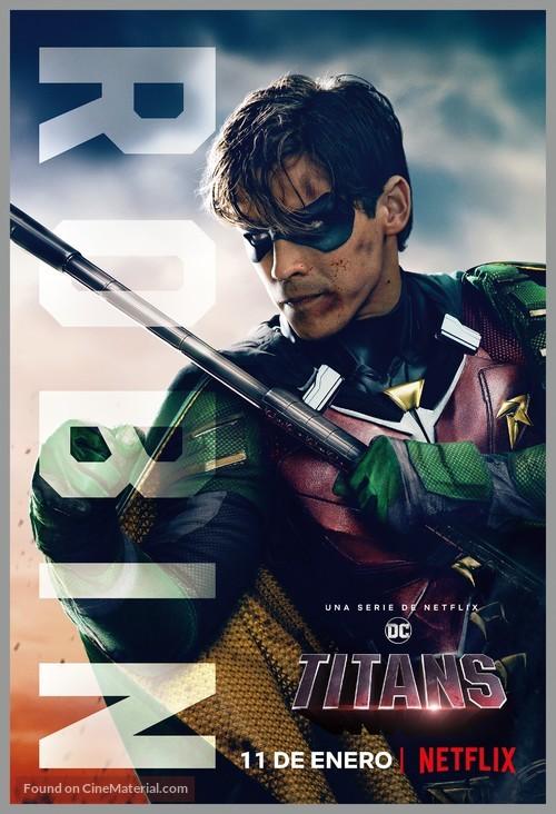 Titans - Spanish Movie Poster