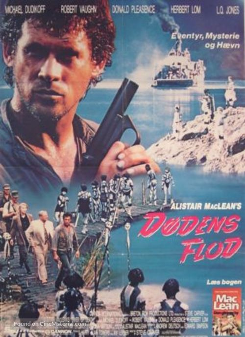 River of Death - Danish DVD movie cover