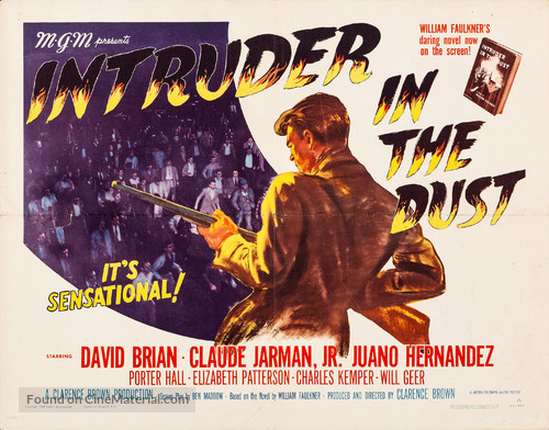 Intruder in the Dust - Movie Poster