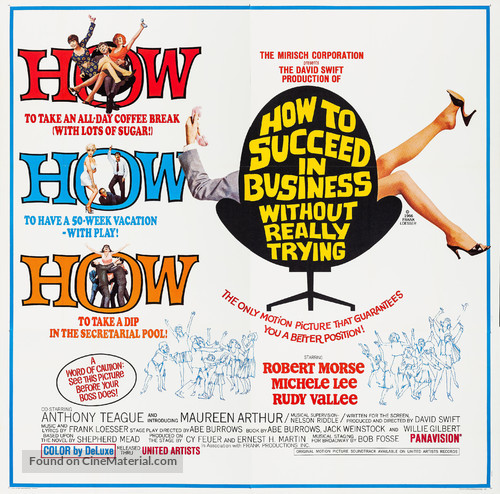How to Succeed in Business Without Really Trying - Movie Poster