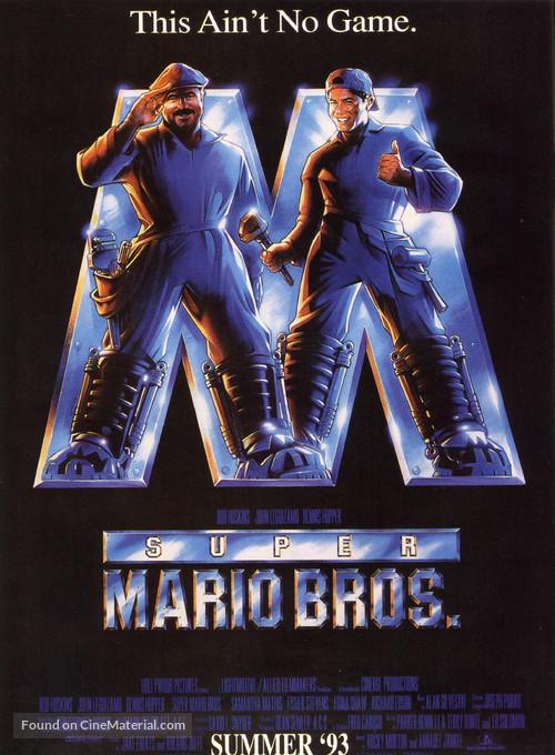 Super Mario Bros. - Advance poster