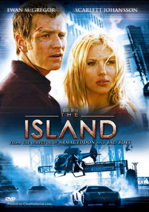 The Island - DVD movie cover