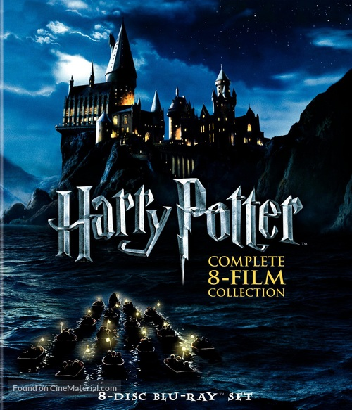 Harry Potter and the Chamber of Secrets - Blu-Ray cover