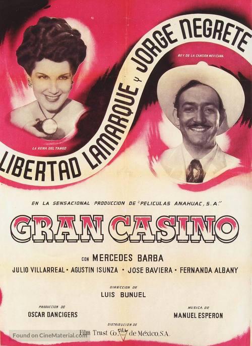 Gran Casino - Mexican Movie Poster