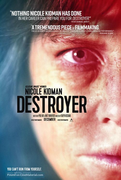 Destroyer - Movie Poster