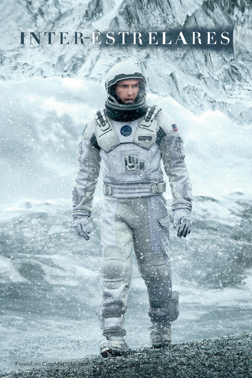 Interstellar - Brazilian Movie Cover