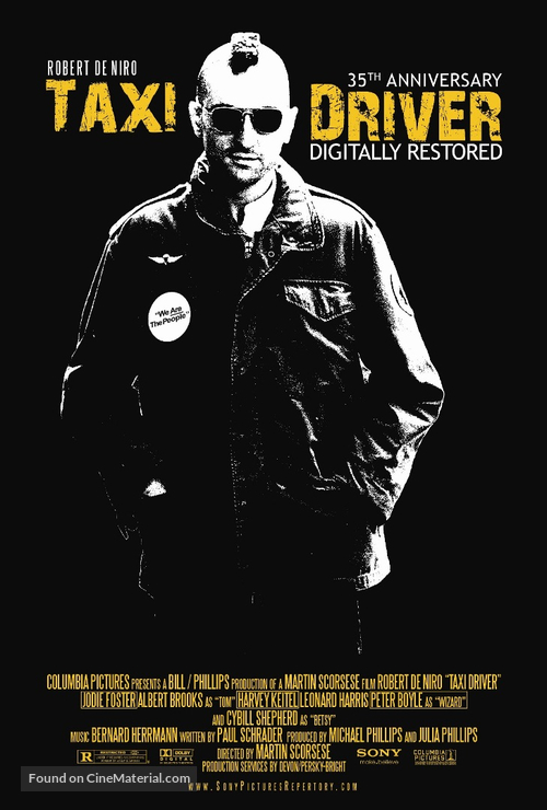 Taxi Driver - Re-release movie poster