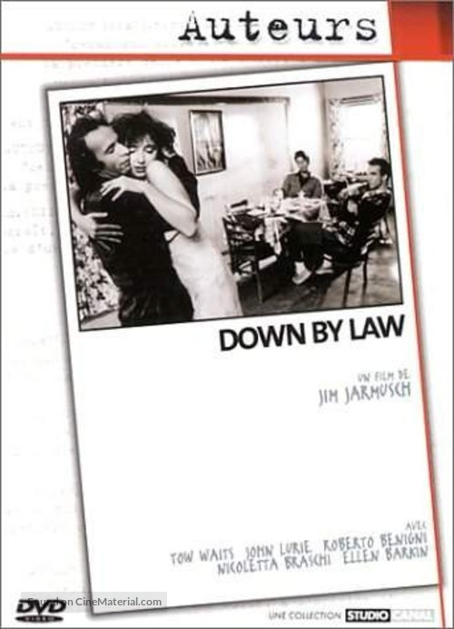 Down by Law - French DVD movie cover