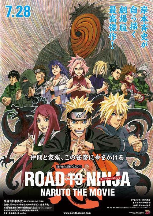 Kết quả hình ảnh cho Road to Ninja: Naruto the Movie poster