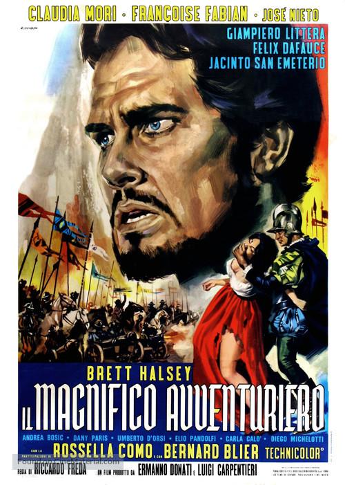 Il magnifico avventuriero - Italian Movie Poster