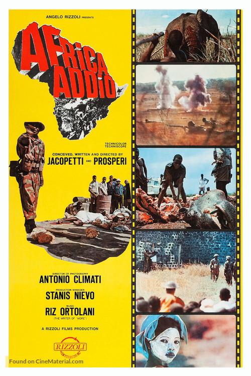 Africa addio - Movie Poster