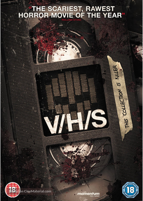 V/H/S - British DVD cover