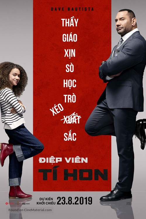 My Spy - Vietnamese Movie Poster