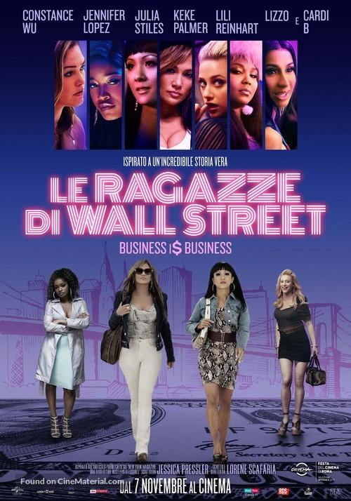 Hustlers - Italian Movie Poster