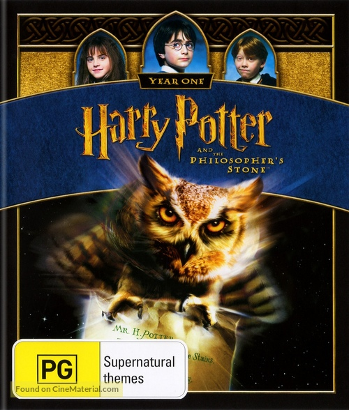 Harry Potter and the Sorcerer's Stone - Australian Blu-Ray cover
