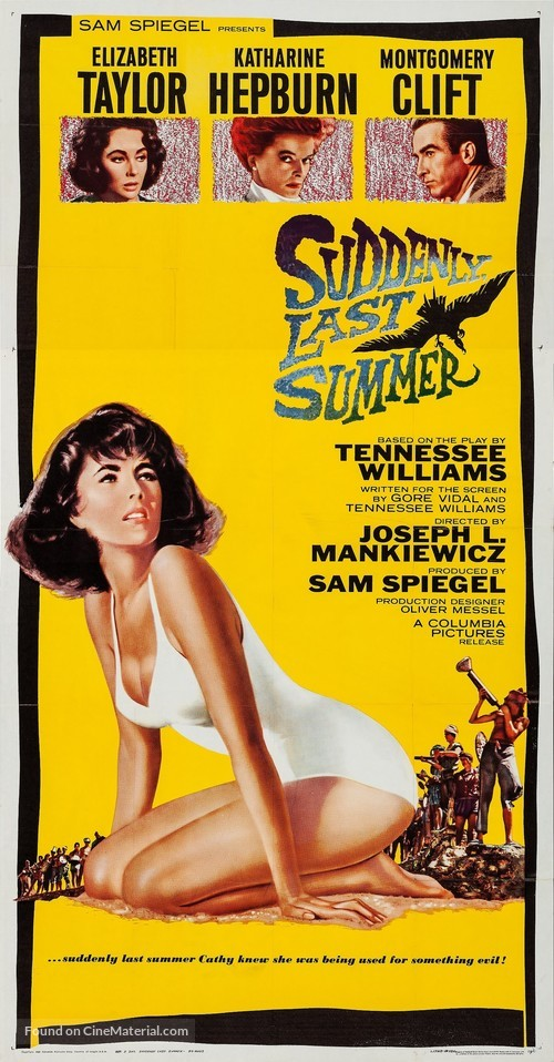 Suddenly, Last Summer - Movie Poster