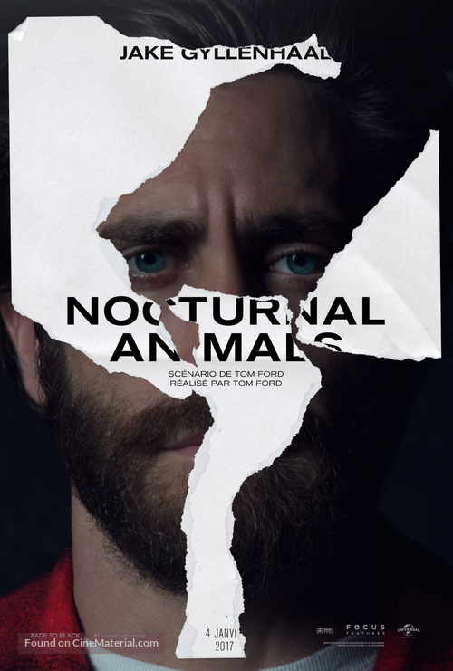 Nocturnal Animals - French Movie Poster