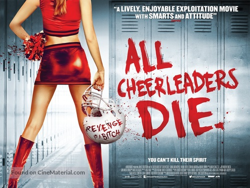 All Cheerleaders Die - British Movie Poster